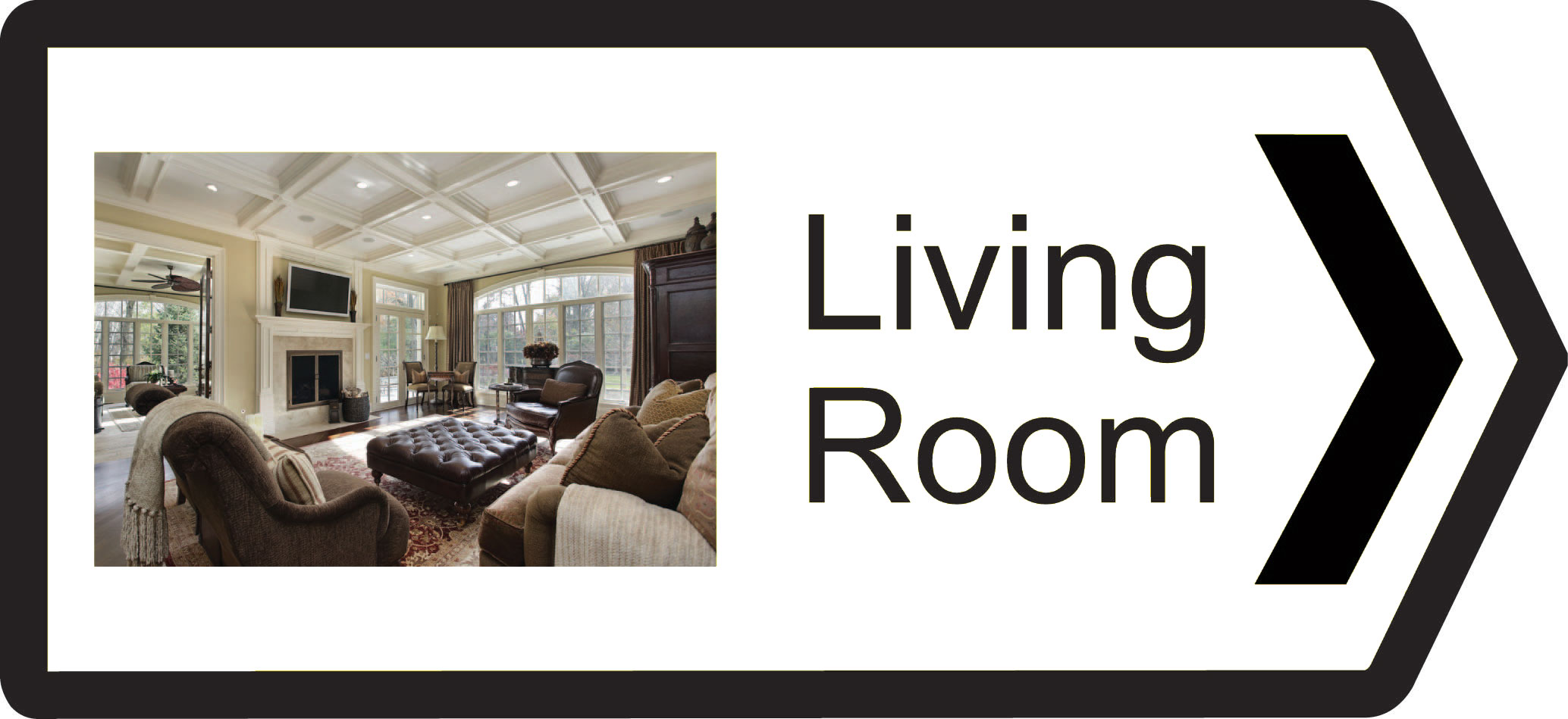 Classic Range Directional Signs   Recogneyes Care Home and ...