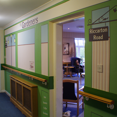 Nostalgic Wall Coverings Recogneyes Care Home And