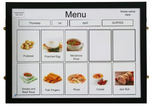 A1 Magnetic Menu Board