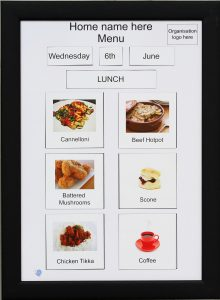 A2 Magnetic Menu Board