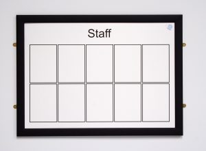 Magnetic Staff Board