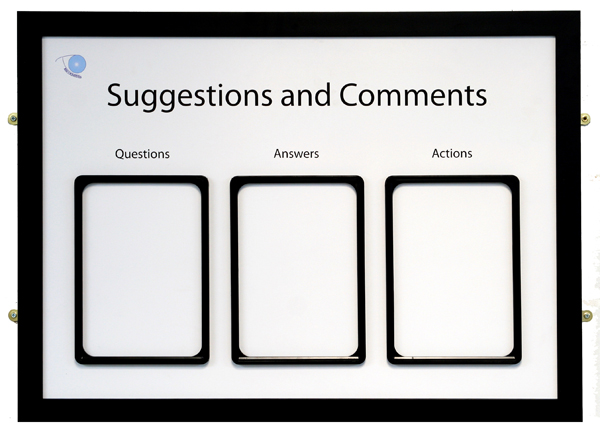 Suggestions Board