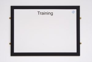 Dry Wipe Training Board
