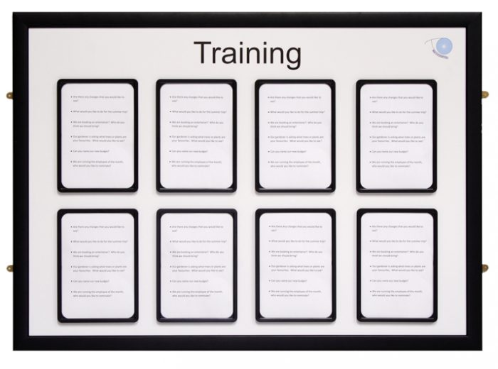 Training Board With Pockets